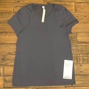 NEW w/Tags Lululemon Mind Over Miles SS Size 2